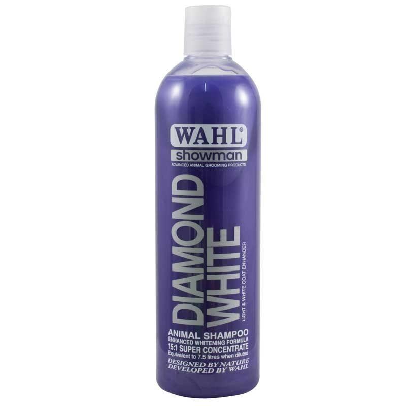 Wahl 0.5 liter - Diamond sjampo - Hvit pels